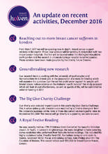 Breast Cancer Haven Latest News (PDF)