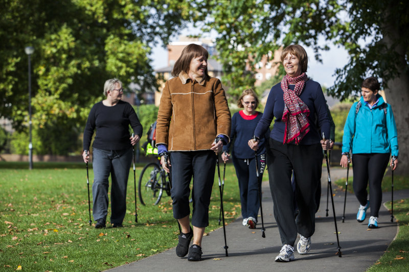 Fitness classes for people with breast cancer