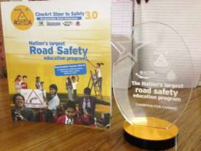 Award to Students for contribution to Road Safety