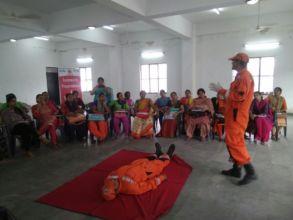 Disaster Management Training for Teachers