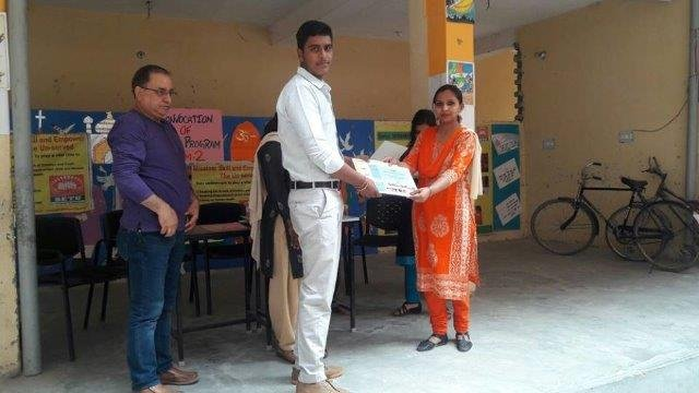 Certification Ceremony for Basic IT students