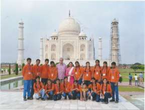 Educational Trip to Agra , at the TAJ