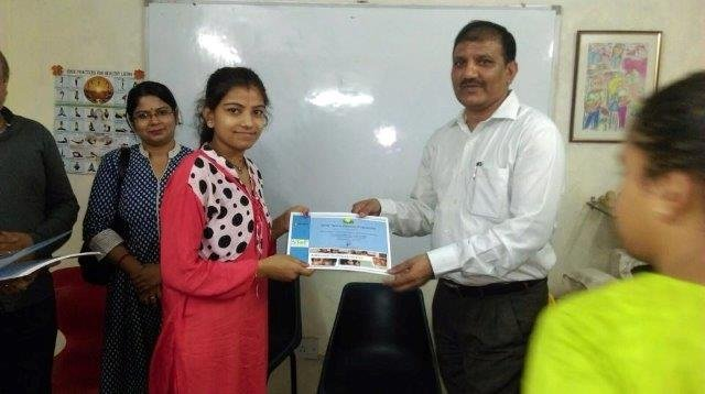 Certification Ceremony for Step Students