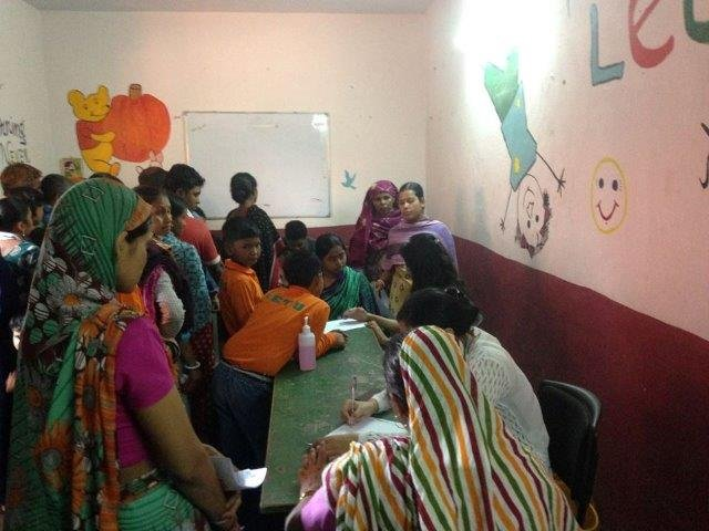 Health Camp for Parents of Students