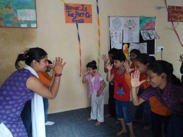Summer Camp - learning to dance
