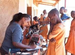 Pastoralist girls in school