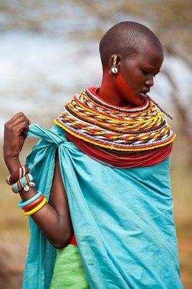 A Samburu girl needing education