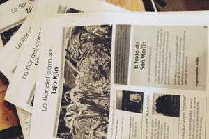 """Community newspaper """"Tsjo Kjin"""""""