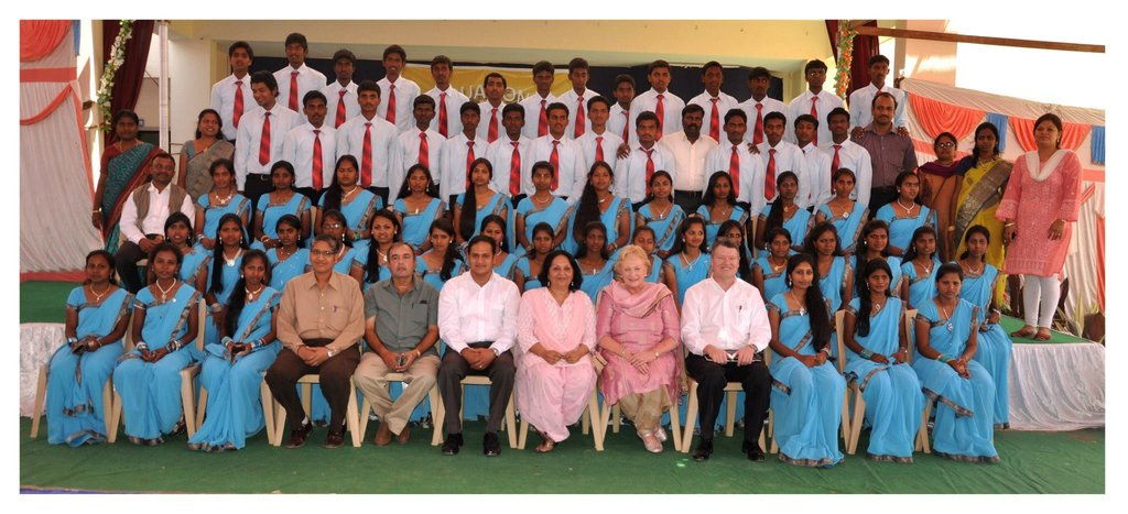 Christel House India 2013 Graduating Class