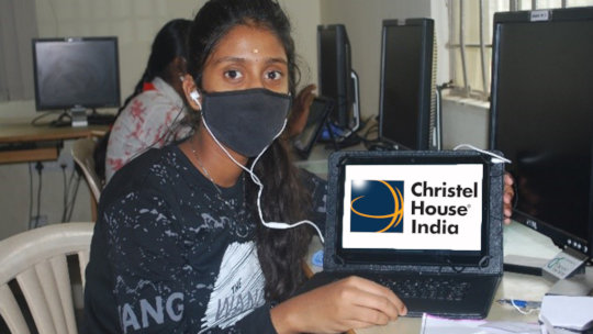Tablets keep Christel House kids learning
