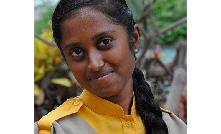 Revathi, Christel House India Graduate