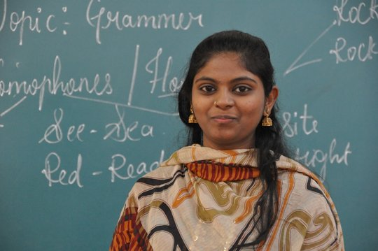 Sumaiya, 2011 Graduate, Christel House India-B