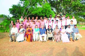 2012 Christel House India Graduating Class