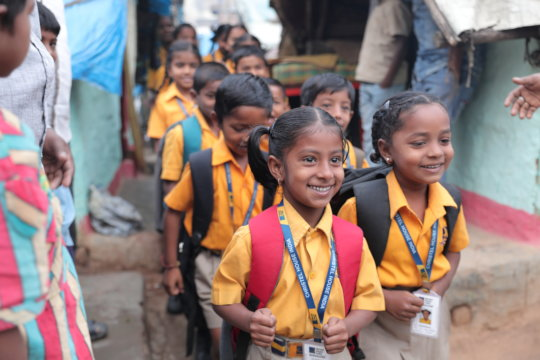 Educate an Indian Girl-Child from the Slums