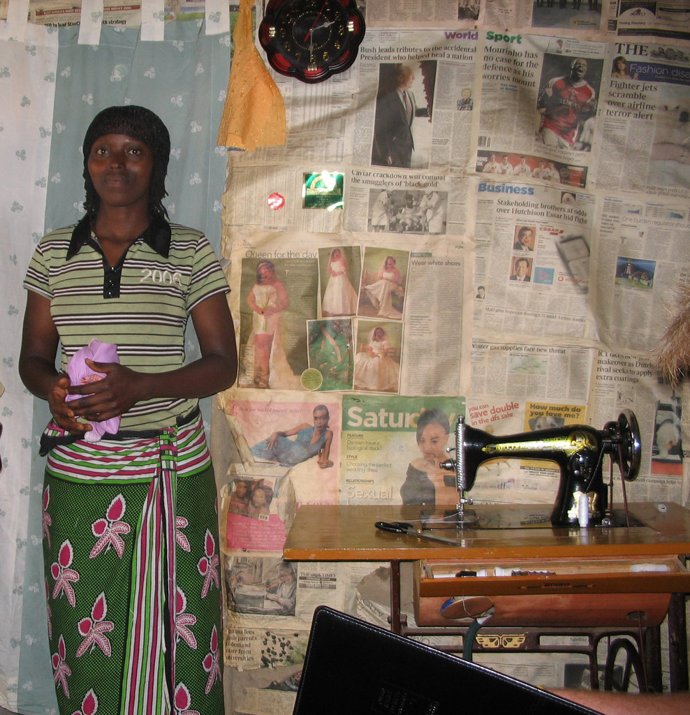 Sewing Enterprise for Adolescent Girls in Tanzania