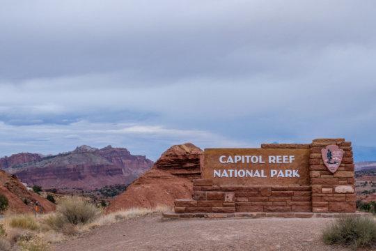 Capitol Reef is one of Utah's treasured parks