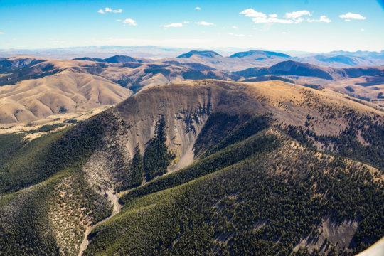 Ellis Peak, critical bighorn sheep habitat
