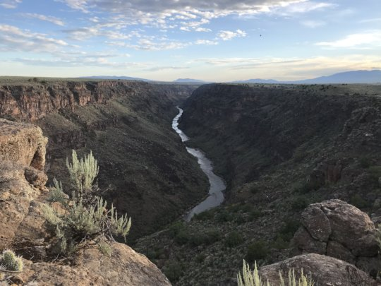 The Rio Grande Gorge is a Critical Migratory Path