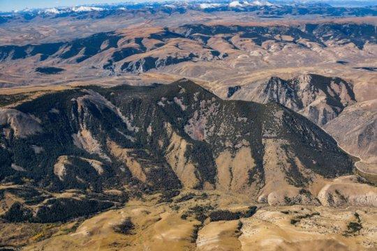 Ellis Peak in the Tendoy Mountains of Montana