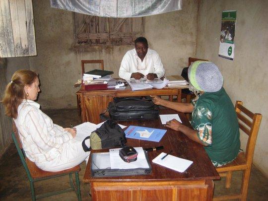 TanzSolar mtg. at Kyanyaru Secondary School