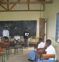 Students in classroom
