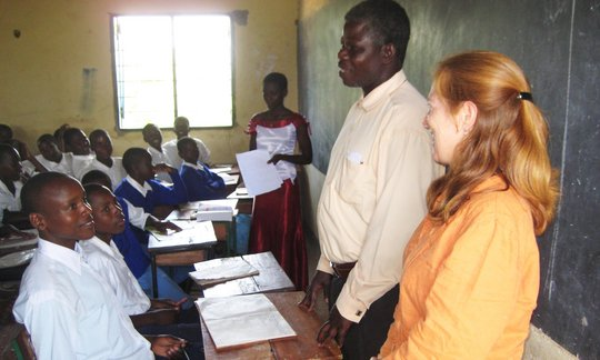 Tegaruka Secondary School Classroom