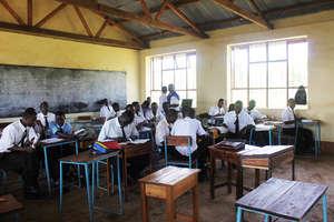 Classroom at Suguti Secondary School