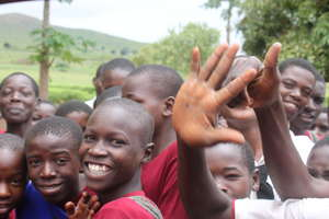 Smiling Students of Kyanyaru Secondary School