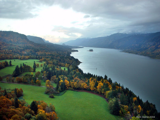 Cape Horn Trail provides this breathtaking view.