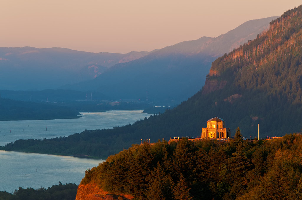 Photographer and Friends of the Columbia Gorge member Michael J. Horodyski took this photo of Vista House on Crown Point, one of Gorge