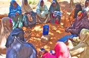 Radio - the most important info source in Dadaab