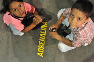 Children at El Desafio - Adrenaline event