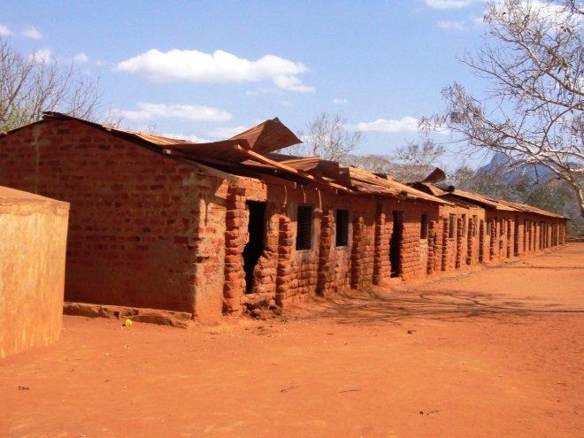 Kisimenyi Old School Roof