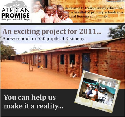 Kisimenyi School for 550+ Pupils in 2013