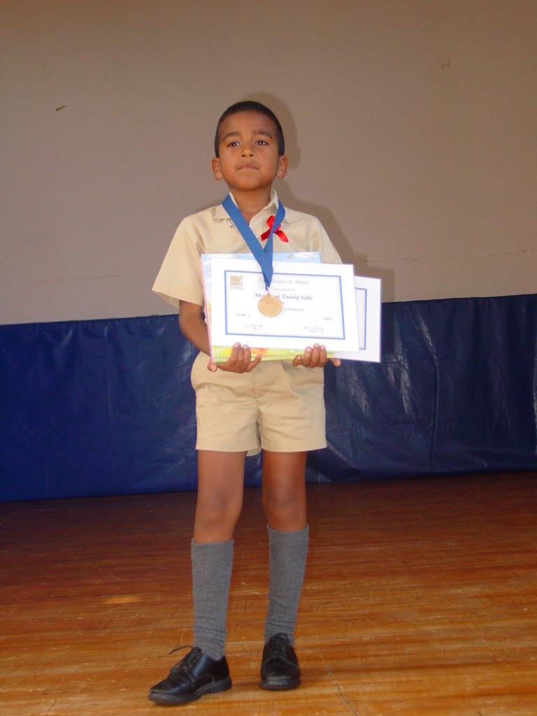 Taariq in 1st Grade
