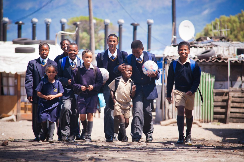 Christel House South Africa Students