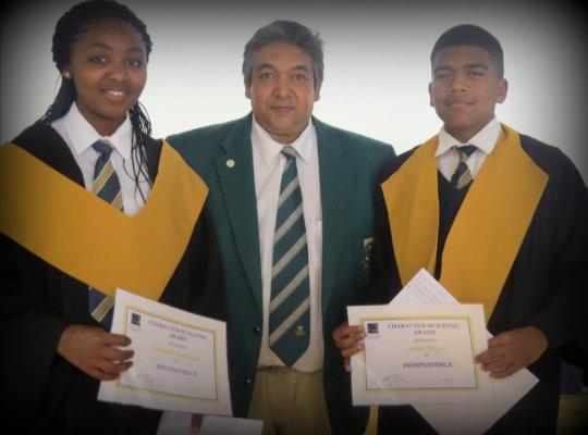 Taariq at CHSA 2014 Graduation