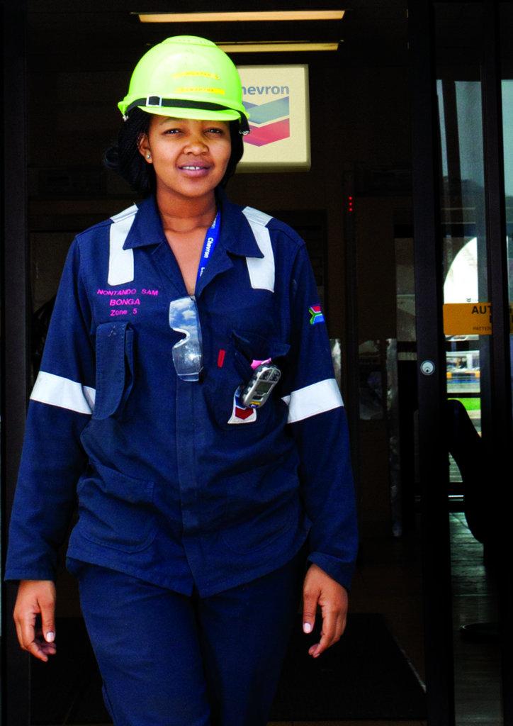 Nontando, Environmental Specialist at Chevron Oil