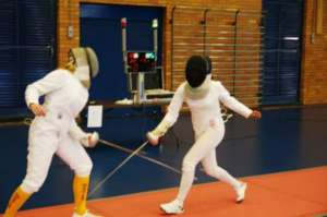 Kristen is a qualified fencing coach