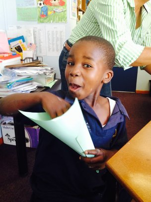 Little Cwenga, who is indeed 7 years old.
