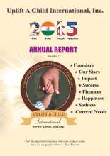 2015 Annual Report - Uplift a Child International (PDF)
