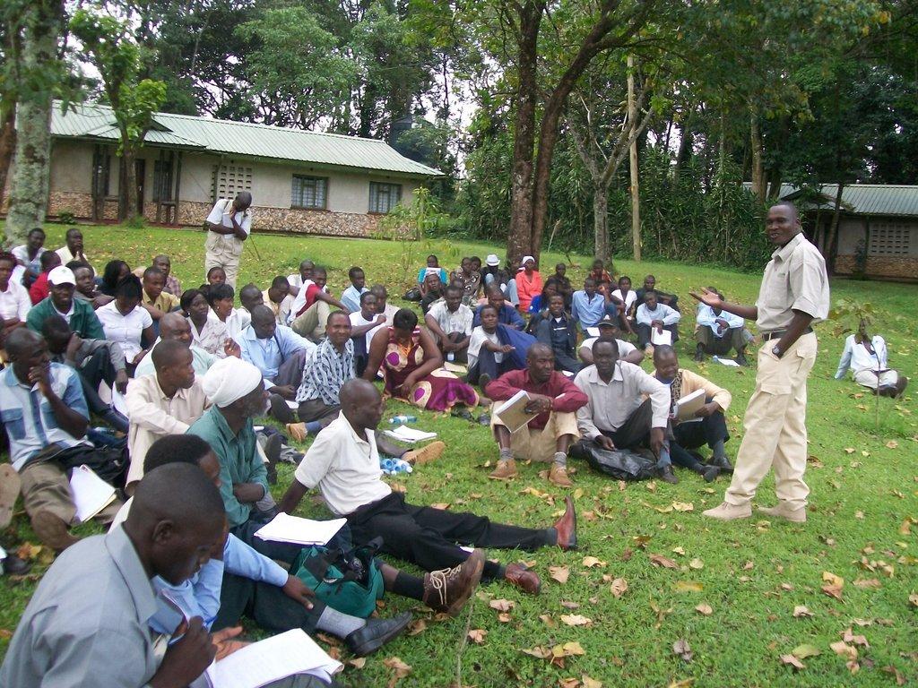 HIV/AIDs awareness to 200 families in kenya