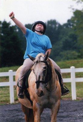 Eliza riding