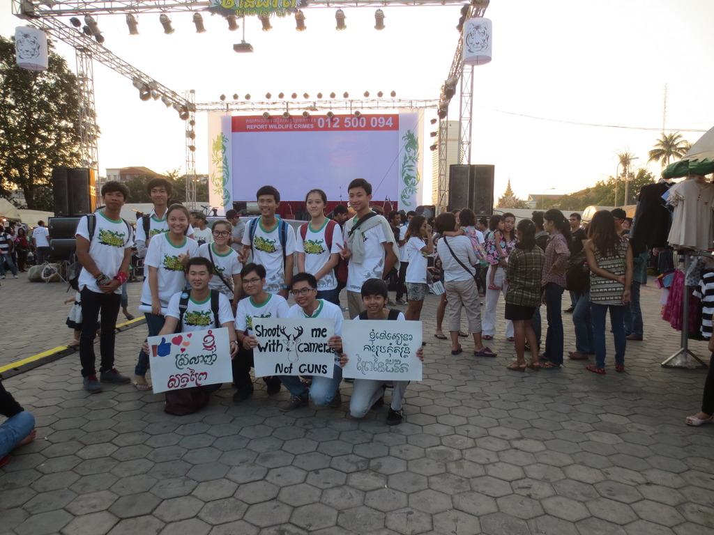 Mobilizing youth to protect wildlife