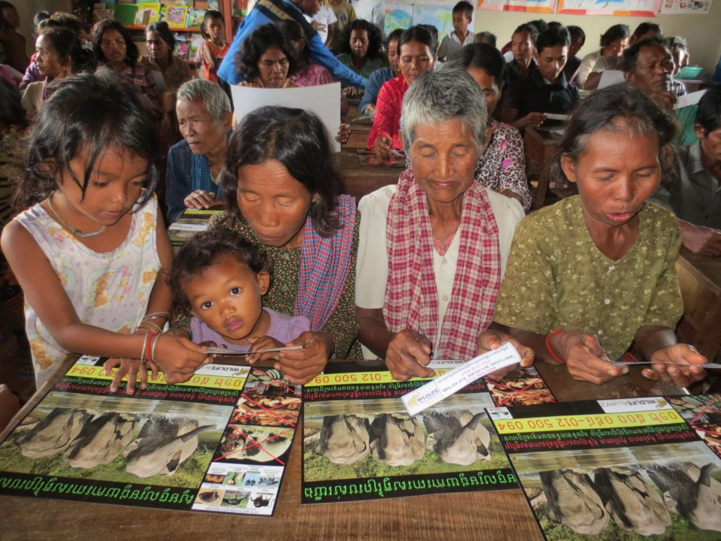 Raise Awareness to Protect Wildlife in Cambodia