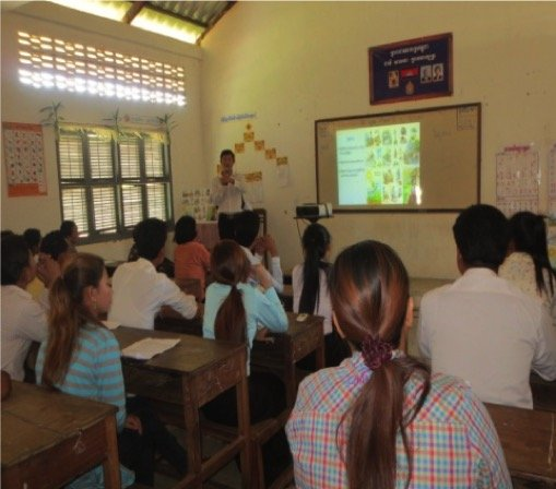 Provided material and training to 80 teachers