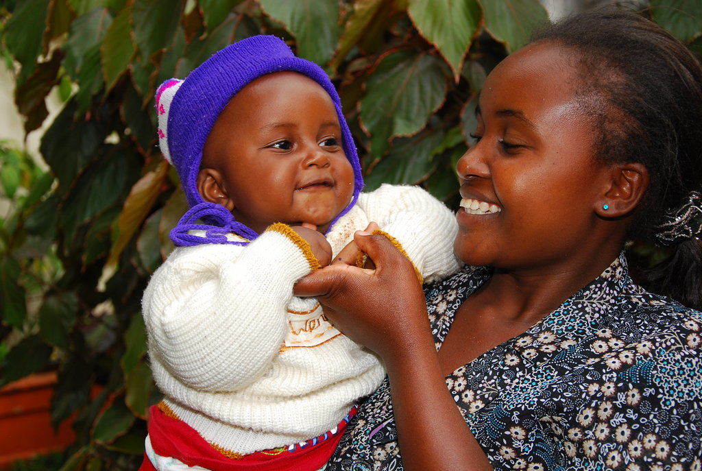 Mother and Son from our Kenyan Program