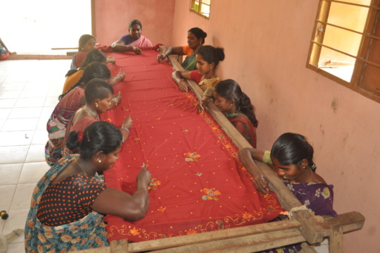 Hand embroidery training