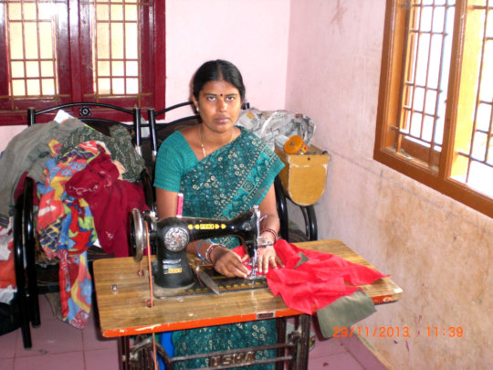 Jayanthi's own sewing business