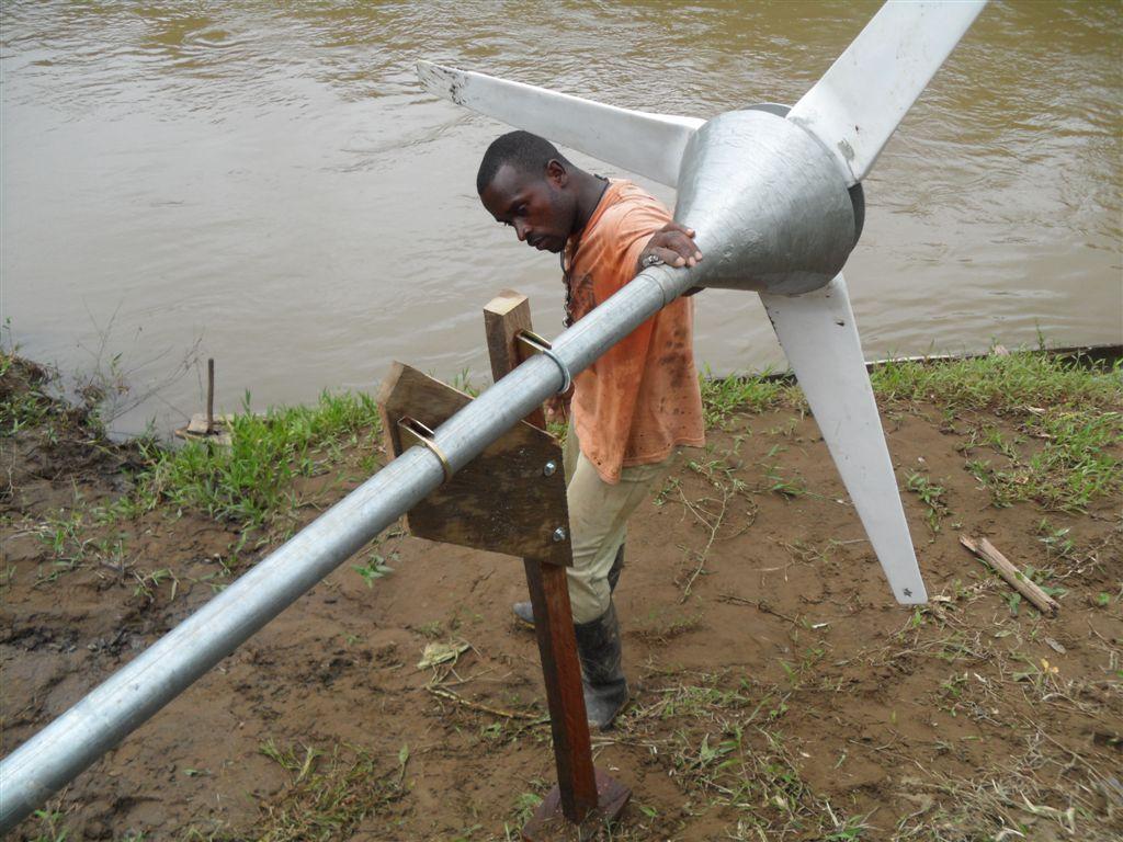 River turbine blade